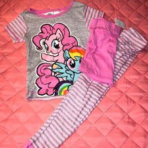 3 Piece Girls Pajama set